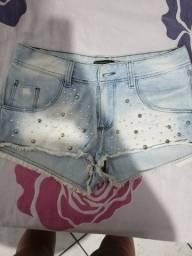 Shorts com taxinhas