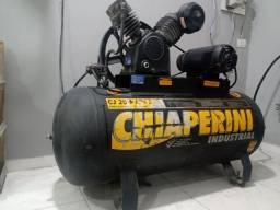 Título do anúncio: Compressor chiaperini 200 litros .