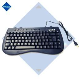 Mini Teclado Notebook Multimídia Portátil 98 Teclas Pt-br