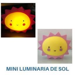 Mini Luminaria Tema Sol