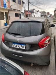 Título do anúncio: Peugeot 208 Griffe Automático 1.6 cinza. Ler anúncio com atenção
