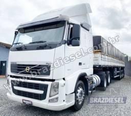 Conjunto Volvo FH 440 2011 + Carreta Graneleira Librelato 2016
