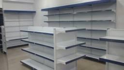 Móveis para lojas - gondôlas, balcão, check out