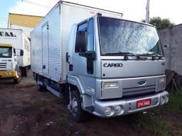 Ford Cargo 816 S 2013 seg, dono  Tco + valor c/ bau de 6,2 mts