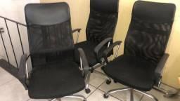 Título do anúncio: Cadeira Executiva Escritório DU-200 em Tela Mesh