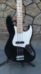 Título do anúncio: Baixo Fender Jazz Bass Standard - Estado De Novo - No Plástico