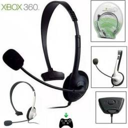Headphone para controle de X-box 360