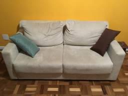 Sofa 2 lugares extensível Sued areia