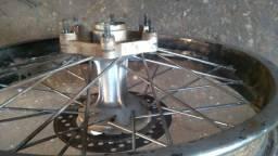 Vendo roda traseira da lander 250