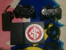 Playstation 2 com volante ,