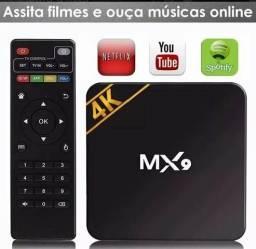 Tv box 4k configurado aceito cartao zap 987006489