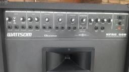 Caixa amplificada wattsom 500 p