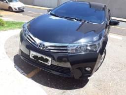 Toyota Corolla GLI 1.8, automático, preto, 2017 - 2017