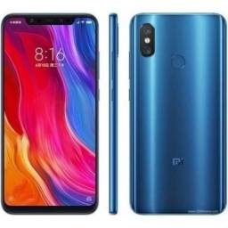 Xiaomi MI 8 64gb 6g Ram Azul Versão Global