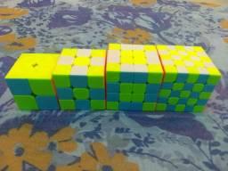 Conjunto de cubos mágico