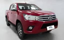 Toyota Hilux SRV 2.8 Diesel 4X4 2017 Vermelho Automático Completo - 2017