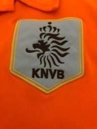 58d9b7acb7 Camisa de time Seleção da Holanda - Nike