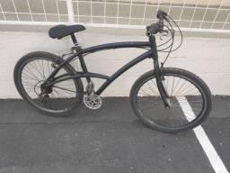 Bicicleta caloi 100 sport aluminio toda shimano freios v break roda aero