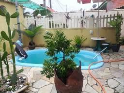 Código 39 - Casa com 2 quartos, 1 suíte, piscina e edicula - Cordeirinho - Maricá-RJ