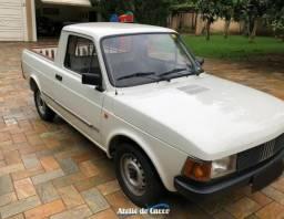 Fiat 147 Pick up 1987 - 2º Dono -Placa Preta - Original em Rara Conservação