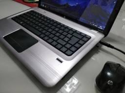 Notebook HP, com 6 gb ram e 1 gb de placa de vídeo