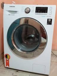 Maquina de lavar e secar roupas Samsung Eco bubble semi-nova com garantia