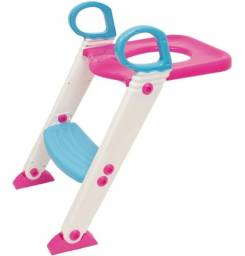 Assento sanitário  redutor com escada infantil