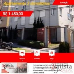 Apartamento 2 dormitórios para Locação em Pelotas, Centro, 2 dormitórios, 1 banheiro, 1 va