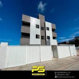 Apartamento com 2 dormitórios à venda, 50 m² por R$ 135.000 - Mangabeira - João Pessoa/PB