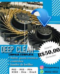 Deep Clean - LIMPEZA PROFISSIONAL DO SEU GAME !