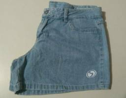 Short Jeans Claro Tam: 42 Marca: Freesurf
