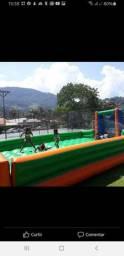futebol de Sabao