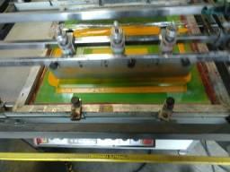 Impressora serigrafica larese 60 x 80 semi automatica nova