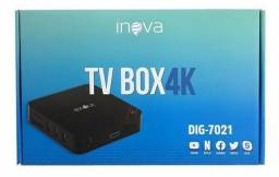 Tv Box Inova Dig-7021 4K 3gb/16gb Android 7.1 Smart UHD Aparelho Conversor