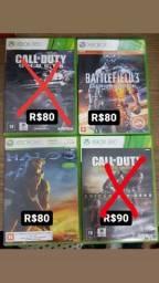 Vendo Jogos de Xbox360 a partir de R$50