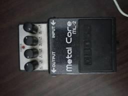 Pedal Metal core ml-2 usado
