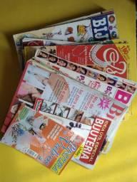 Revistas de bijuterias e sabonetes