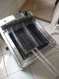 Fritadeira elétrica industrial ( Tedesco 220vlts )
