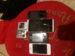 Vendo celulares pra retirada de peças