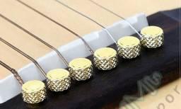 Pino ponte/cavalete violão de aço de alta qualidade