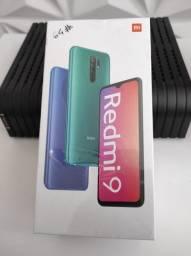 N-O-V-O , Redmi 9  da Xiaomi. LACRADO com Garantia e Entrega hj