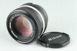 Lente Nikon Nikkor 50mm F/1.4 | Made in Japan | Impecável