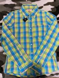 Camisa Xadrez HOLLISTER original.