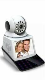 Camera de Seguranca Wifi com Tela videochamada