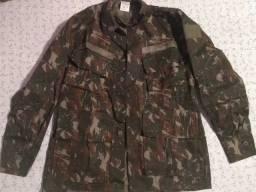 Blusa oficial camuflada exército