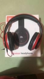 Headphone JBL (bluetooth e com fio)
