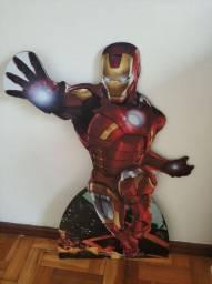 Kit de festa infantil homem de ferro