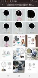 Espelho de maquiagem ? com LED e ventilador