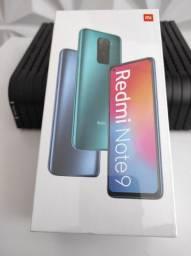 N-O-V-O , Redmi Note 9 Xiaomi. LACRADO com Garantia e Entrega hj