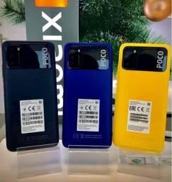 Xiaomi Poco X3 4GB/64GB Novo (temos Azul e Amarelo)